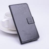 Кожен калъф за Huawei Ascend P8 - черен
