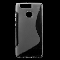 Силиконов гръб за Huawei P9 - прозрачен