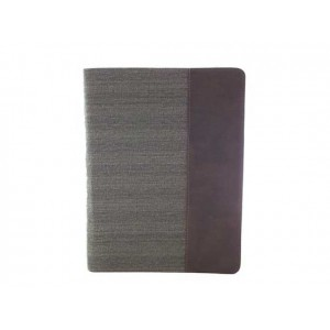 Калъф в съчетание на текстил и кожа за Ipad