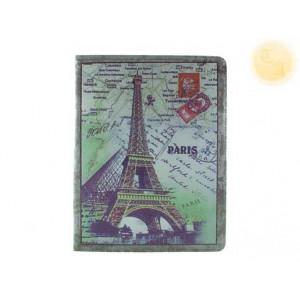 """Кожен калъф с изображение на """"Айфеловата кула""""  за Ipad"""