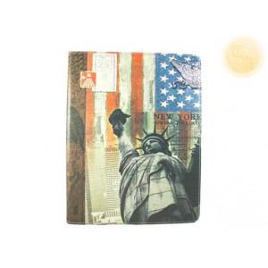 """Кожен калъф с изображение на """"Статуята на свободата""""  за Ipad"""