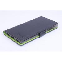Кожен калъф за  Lenovo Vibe Z2 - черен