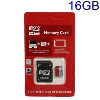 16GB MicroSD карта с SD Adapter