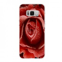 Гръб мек шарен MBX - Samsung G950 Galaxy S8 - Red Rose