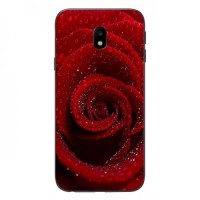 Гръб мек шарен MBX - Samsung J720 Galaxy J7 (2017) - Red Rose