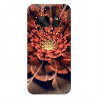 Мек гръб за Samsung G935 Galaxy S7 Edge - Brown Flower