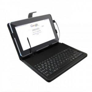 Калъф с клавиатура MBB за 10 инчов таблет - Черен