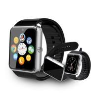 GT08 умен часовник с 1.5 инчов дисплей - сребрист