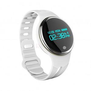 E07 Smart Bluetooth 4.0 Wristband IP67 водоустойчив смарт часовник - бял